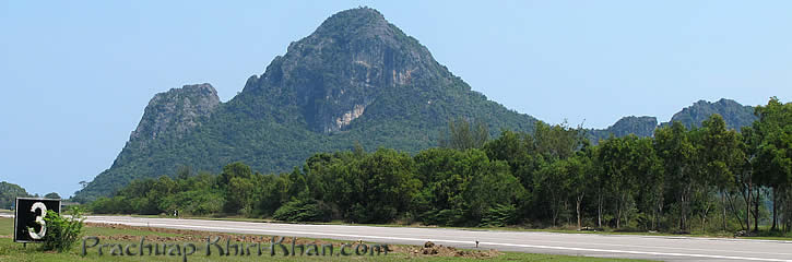 The airport of Prachuap Khiri Khan